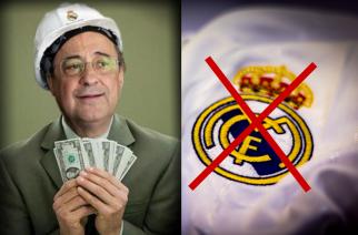 """Perez znów """"sprzedaje"""" herb Realu, czyli jak niszczyć klubową tradycję"""