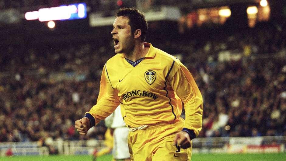 Marc Viduka po zdobyciu gola z Realem Mardyt - sezon 2000/2001
