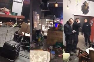 """Pseudokibice Legii ponownie dali """"popis"""". Zaatakowali fanów Ajaksu w jednym ze stołecznych lokali"""