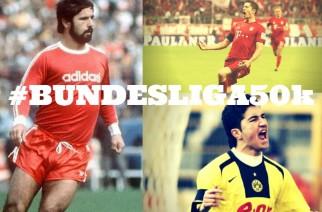 Od Konietzki do Bellarabiego. 50 tysięcy goli w Bundeslidze