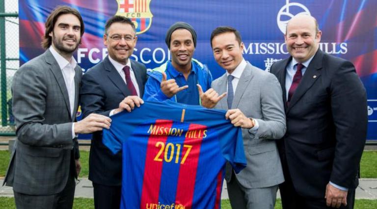 Barcelona zaczyna podbój Chin
