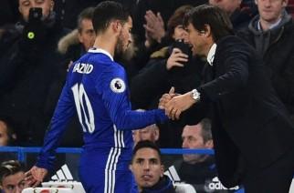 Eden Hazard gani Mourinho i chwali Conte