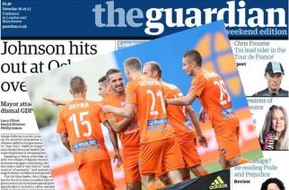 Ekstraklasa podbija świat, czyli Termalica na pierwszej stronie angielskiego dziennika