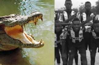 Tragiczna śmierć piłkarza. Zginął pożarty przez krokodyla