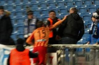 Jacek Kiełb starł się z kibicem po meczu w Poznaniu. Czy na pewno to piłkarz jest winny?