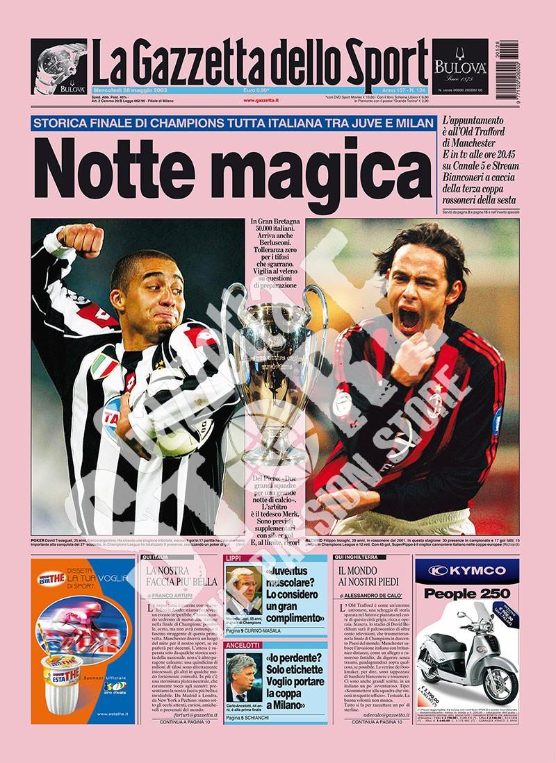 Magiczna noc - historyczny, włoski finał Ligi Mistrzów na Old Trafford.