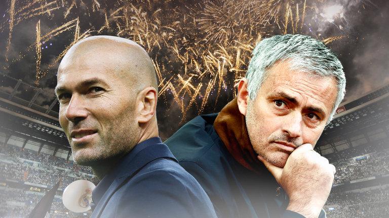 Rekordowy Real Madryt – Zidane vs Mourinho