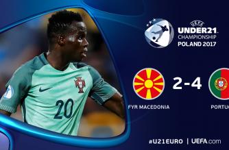 Macedonia zatrzymuje Portugalię!