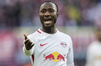 Keita nie jest zadowolony z postawy RB Leipzig (Zdjęcie: SkySports.com)
