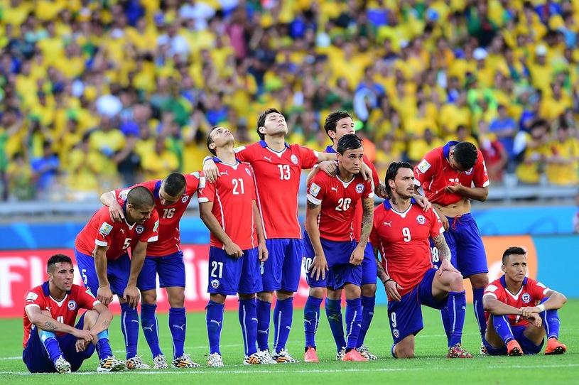 finał Pucharu Konfederacji 2017 z reprezentacją Chile
