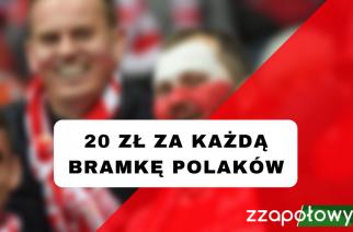 Promocja na mecz Dania – Polska. ForBET płaci 20 zł za każdą bramkę Polaków