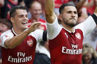 Sead Kolasinac zaliczył wspaniały debiut na Wembley (Zdjęcie: SkySports.com)