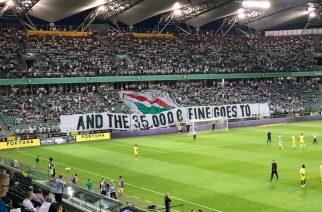 UEFA znowu daje o sobie znać. Kolejna kara dla Legii Warszawa