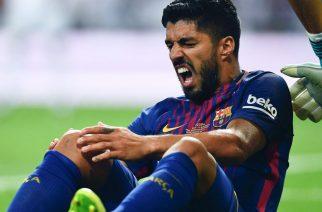 Luis Suarez nie zagra ze względów profilaktycznych (Zdjęcie: SkySports.com)