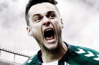Piotr Leciejewski na okładce gry FIFA14