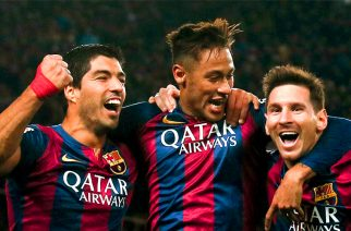 """""""Wrócił!"""", czyli jak Messi i Suarez ściągnęli Neymara z powrotem"""