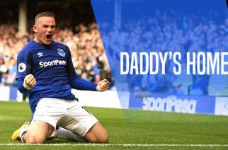 Rooney is back. Jeden gol dla Evertonu, którym ustanowił rekord Premier League