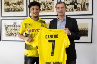 Jadon Sancho (Zdjęcie: Borussia Dortmund)
