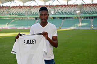 Sadam Sulley (Zdjęcie: Legia Warszawa)