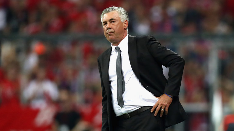 Znalezione obrazy dla zapytania ancelotti 2017