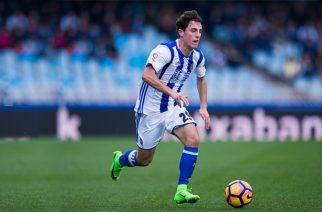 Alvaro Odriozola w barwach Realu Sociedad