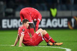 FC Koeln nadal bez zwycięstwa w lidze i europejskich pucharach.