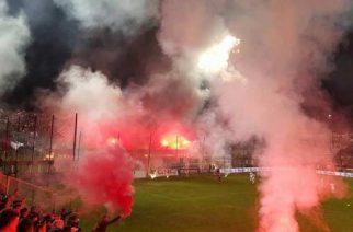 Atmosfera derbowa w stolicy Rumunii (fot. ultras-tifo.net)