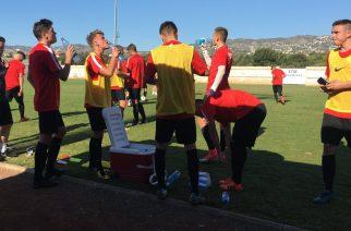 Kadra U17 podczas treningu (fot. Twitter.com/kubapolkowski)