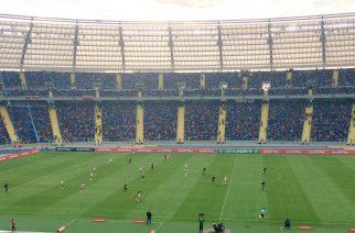 Polska-Białoruś U19 na Stadionie Śląskim (Fot. Twitter.com/a_delimat)