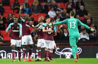 Kibice angielskiej piłki podczas 4. rundy Carabao Cup nie mogli narzekać na brak emocji [fot. https://twitter.com/WestHamUtd]