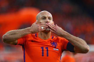 Arjen Robben pożegnał się z reprezentacją
