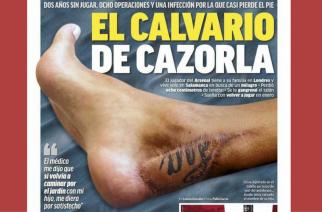 Dramat Santiago Cazorli. Kiedy piłkarz wróci do gry?