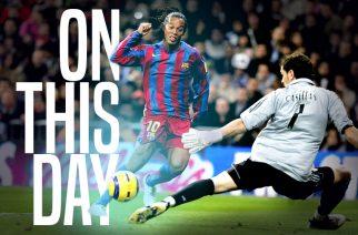 Dzień, w którym Ronaldinho zahipnotyzował Santiago Bernabeu
