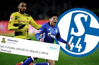 """""""Schalke 44 Gelsenkirchen"""". Kosmiczny mecz na Signal Iduna Park"""
