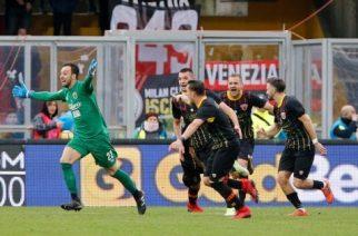 Bramkarz zapewnia Benevento historyczny punkt w 95 minucie! Milan upokorzony