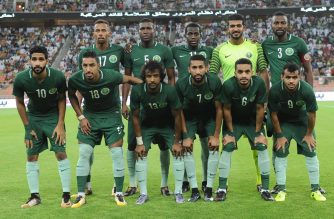 Reprezentacja Arabii Saudyjskiej (Fot. twitter.com/ahdaafme)