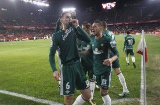 Radość piłkarzy Betisu po bramce. Fot. Twitter.com/RealBetis