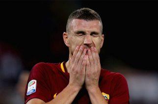 Dżeko zły na Romę. Nie chciał się ruszać z Włoch