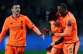 Tylko katastrofa może spowodować, że piłkarze Liverpool nie znajdą się w ćwierćfinale (fot. mirror)