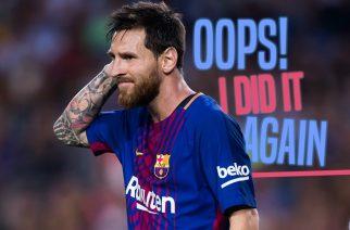 Messi zagrożony = Messi egoistyczny. Całe szczęście, że zna umiar