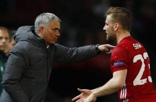 Luke Shaw nie ma łatwo z Jose Mourinho