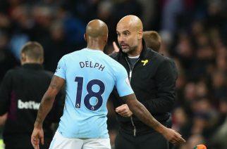 Fabian Delph i Pep Guardiola