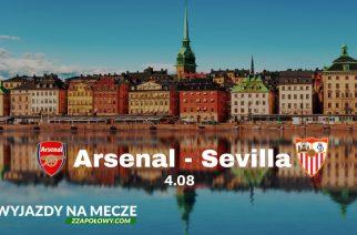 Wyjazd na mecz Arsenal – Sevilla już od 359 zł (przelot, bilet na mecz)