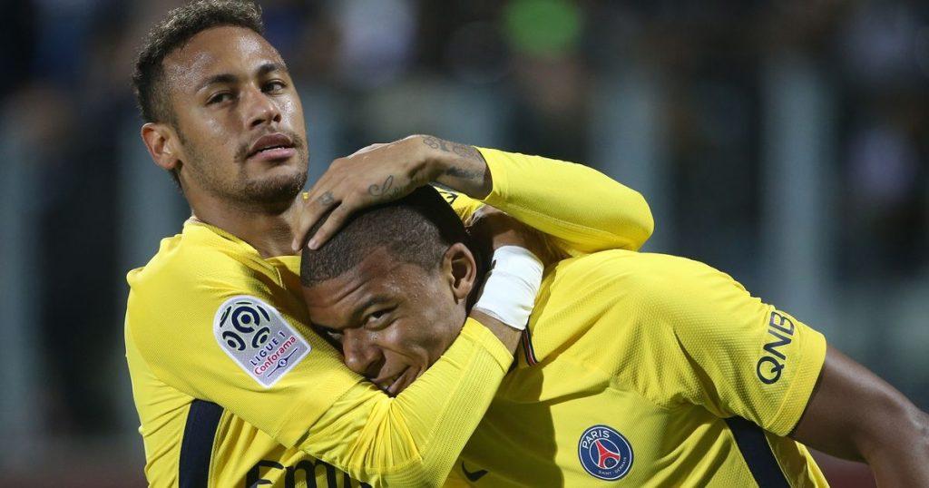 Neymar i Kylian Mbappe