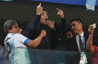 Maradona znowu szokuje