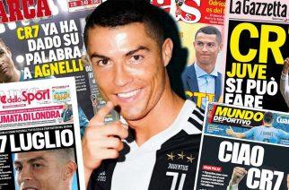 Szokujące doniesienia. Cristiano Ronaldo wcale nie chciał odejść?