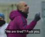 """""""Jesteśmy zmęczeni? Je*cie się"""" – niesamowite nagranie z treningu Guardioli"""