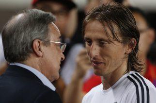 Florentino Perez musi powoli przyglądać się następcom Modricia