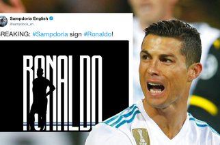 Juventus wyznacza trendy. Sampdoria… też kupiła Ronaldo