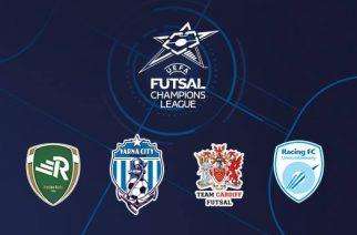Futsal Champions League (źródło. Rekord.com.pl)